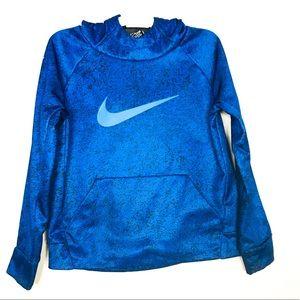 Boys4-7 Nike Therma Fleece Swoosh Pullover Hoodie